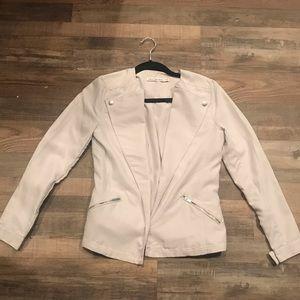 Calvin Klein lightweight jacket in soft gray